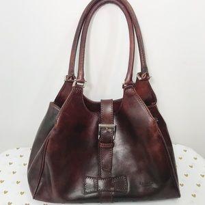 I Medici Firenze Italian Leather Shoulder Bag
